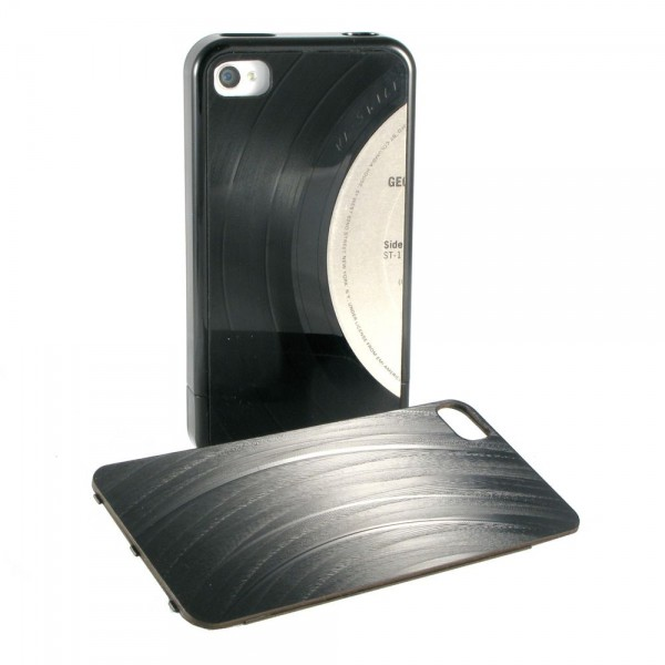 Record iPhono-case 4/4S BLACK
