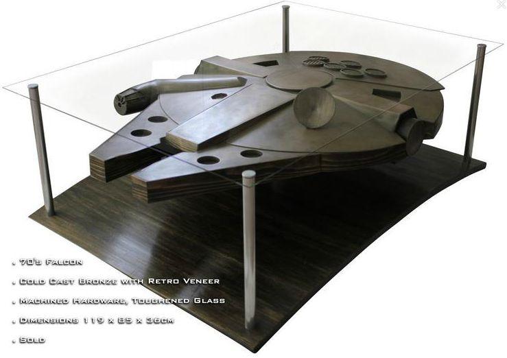 Star Basse Faucon Irrésistible Table Millenium WarsUne xWBdCoeQr