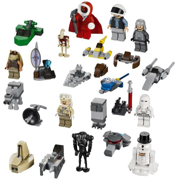 le calendrier de l 39 avent lego star wars de 2012 est l. Black Bedroom Furniture Sets. Home Design Ideas