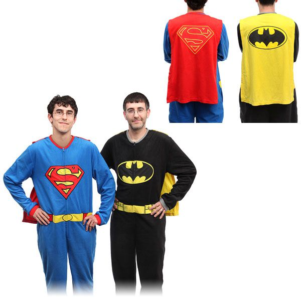 Superhero-Fleece-Pajamas