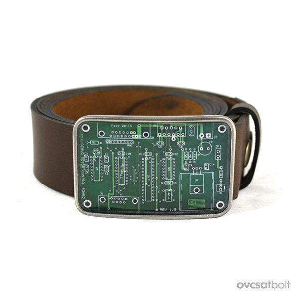 Des boucles de ceinture avec des circuits imprimés 089f9bdb6ba