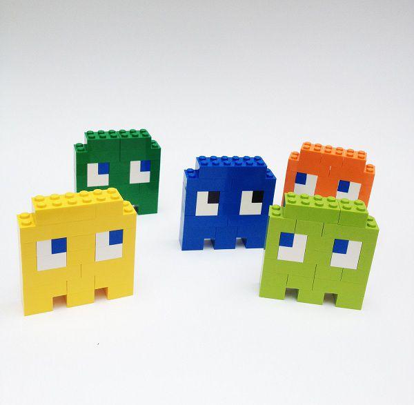 Pac-Man : les broches en LEGO
