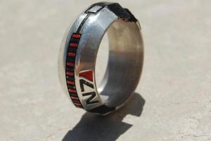 Mass Effect Thermal Clip N7 Ring