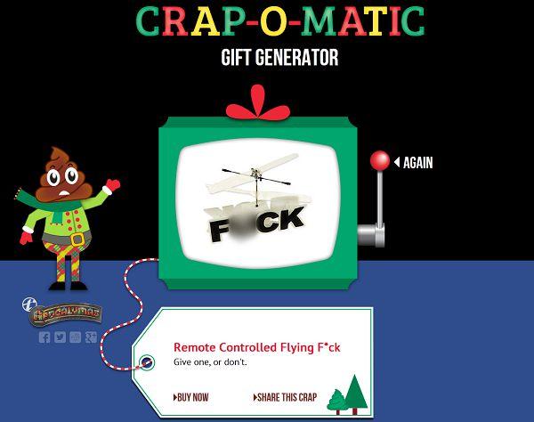 crap machine