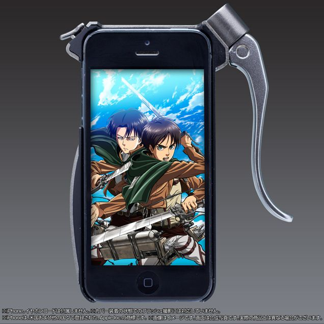 coque attack on titan iphone 6