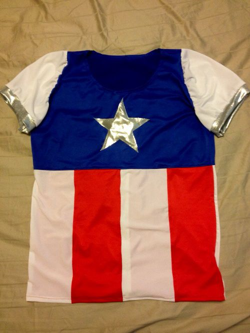Captain-america-t-shirt-running-sport [500 x 666]