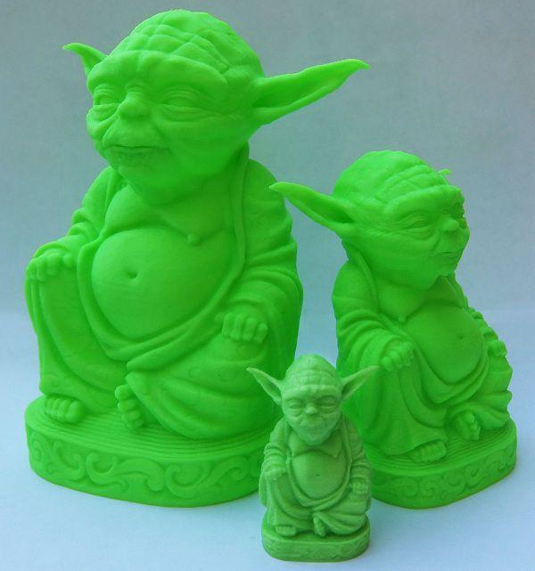 Yoda Zen - vert phosphorescent