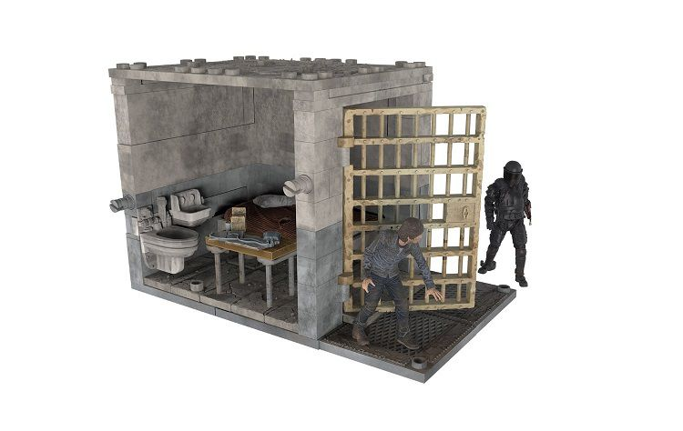 walking-dead-mc-farlane-set-construction-prison-cellule [750 x 474]