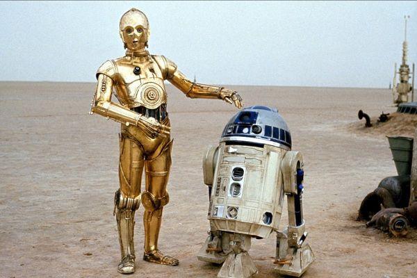 C-3PO & R2-D2 - Star Wars