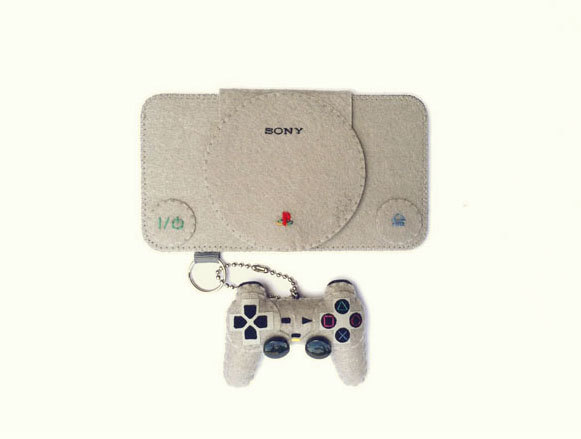 Housse PlayStation pour iPhone, Galaxy S, iTouch.