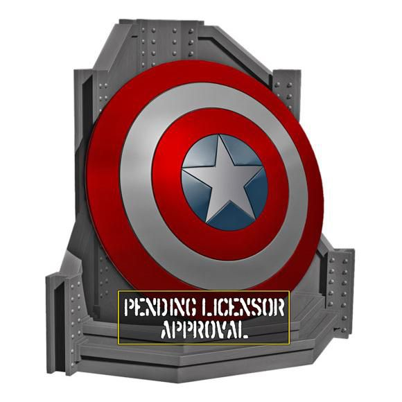 serre-livres-bookend-captain-america-bouclier-shield [580 x 580]