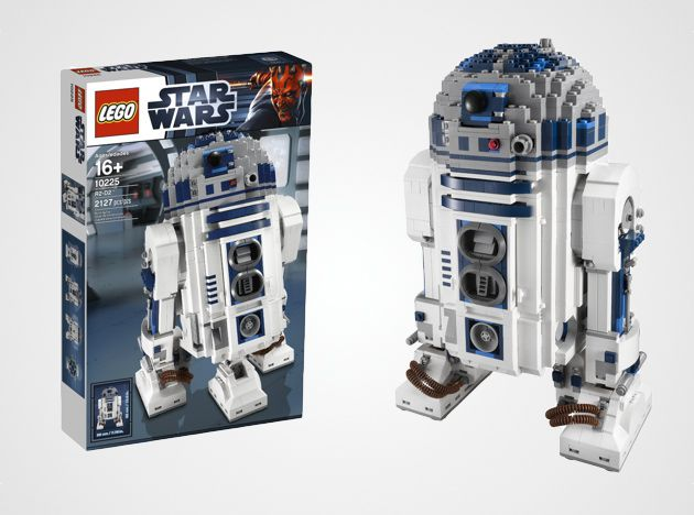 lego star wars r2 d2 le montage en vid o time lapse. Black Bedroom Furniture Sets. Home Design Ideas