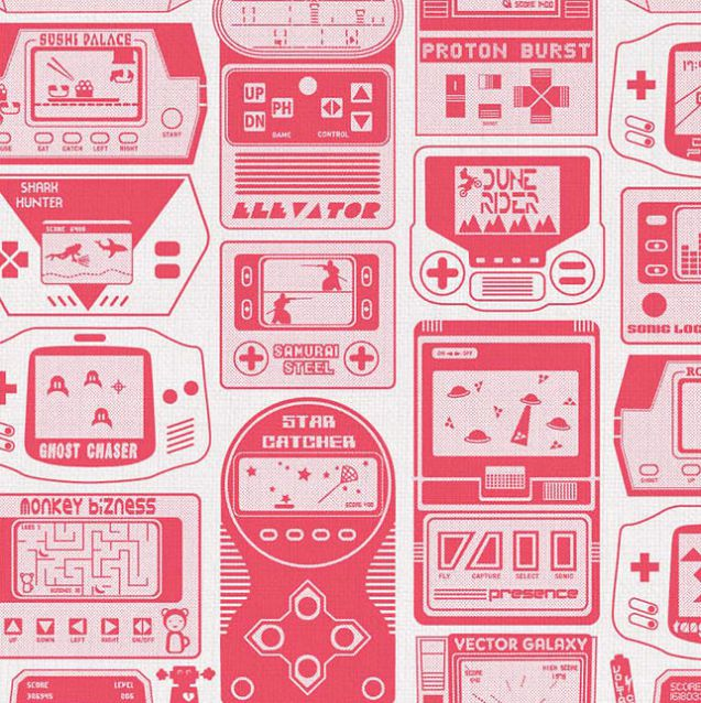 gameland-wallpaper-papier-peint-console-jeu-video [637 x 638]