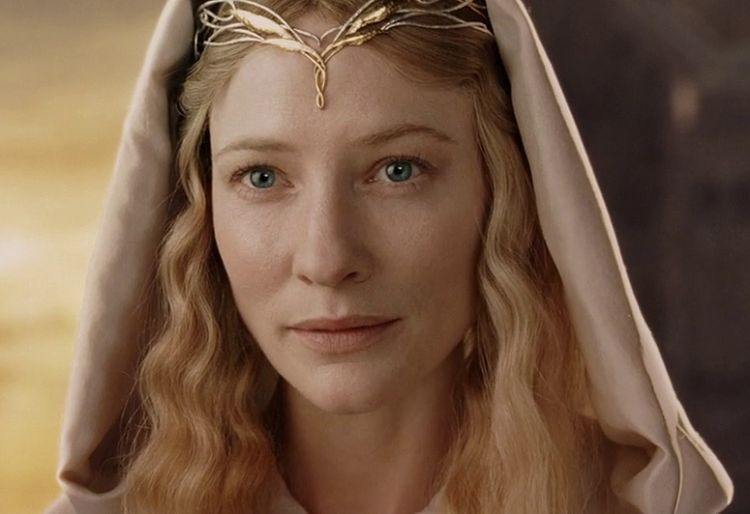 Galadriel (source image : Wikapedia / Hobbit)