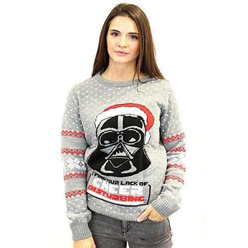 Super 95 pulls de Noël Star Wars pour les fans NI25