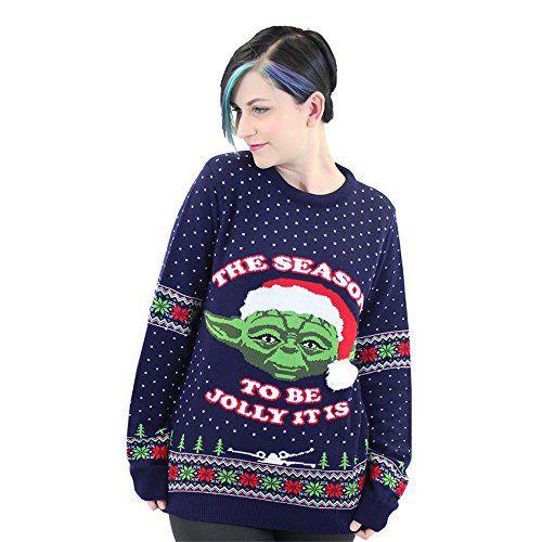 la meilleure attitude 06ea3 1b07d 110 pulls de Noël Star Wars pour les fans