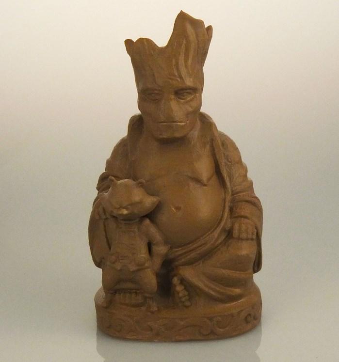 buddha-bouddha-statue-groot-rocket-raccon [699 x 747]