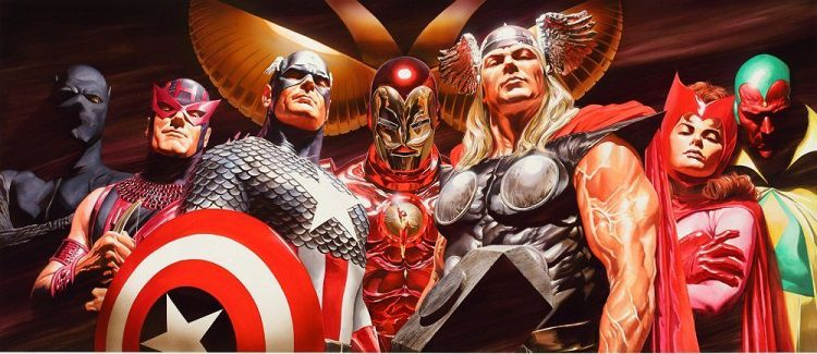 marvel-avengers-asssemble-alex-ross-canvas-art-signed [750 x 325]