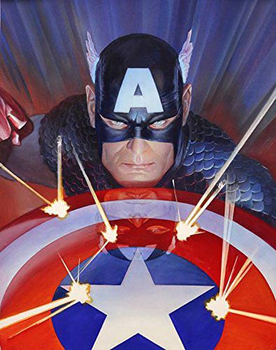 marvel-visions-Captain-america-alex-ross-canvas-art-signed [395 x 500]