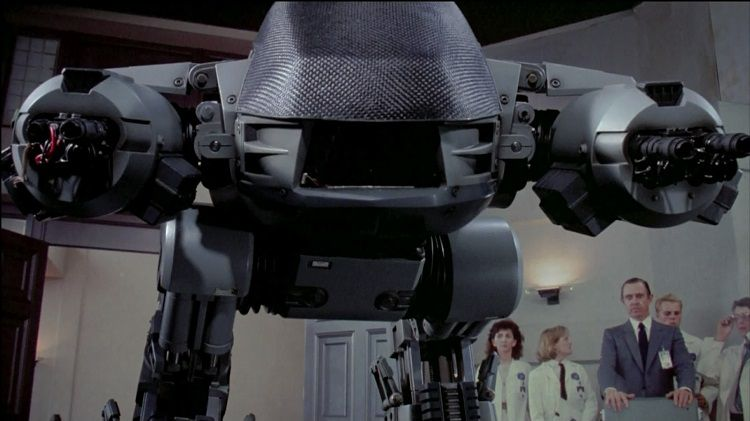 ED-209 première version, 1987