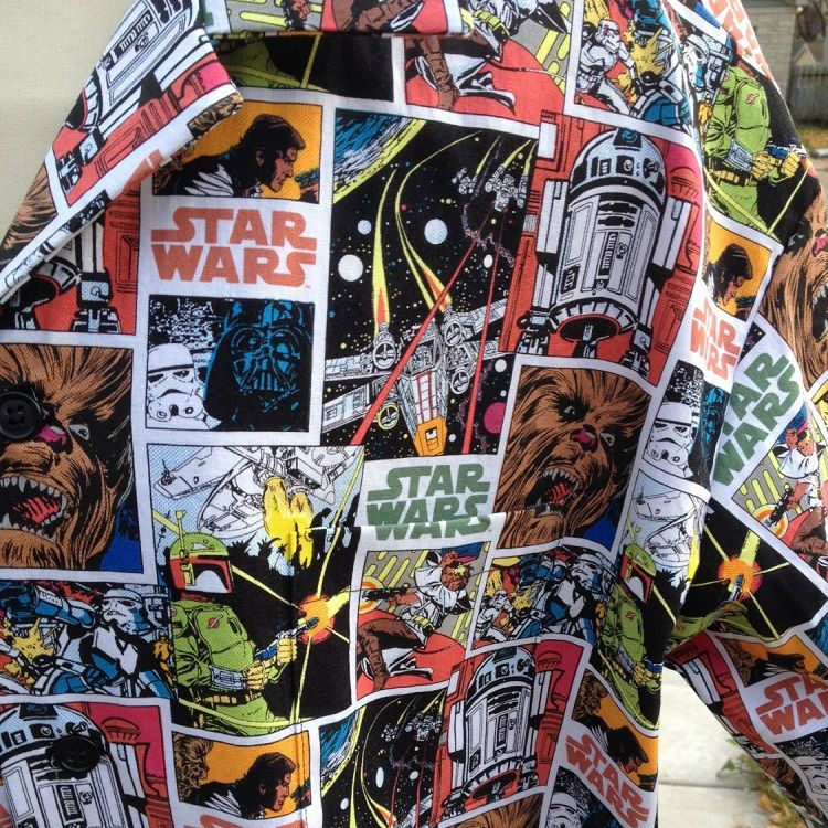 star-wars-chemise-hawaïenne-retro-comics [750 x 750]