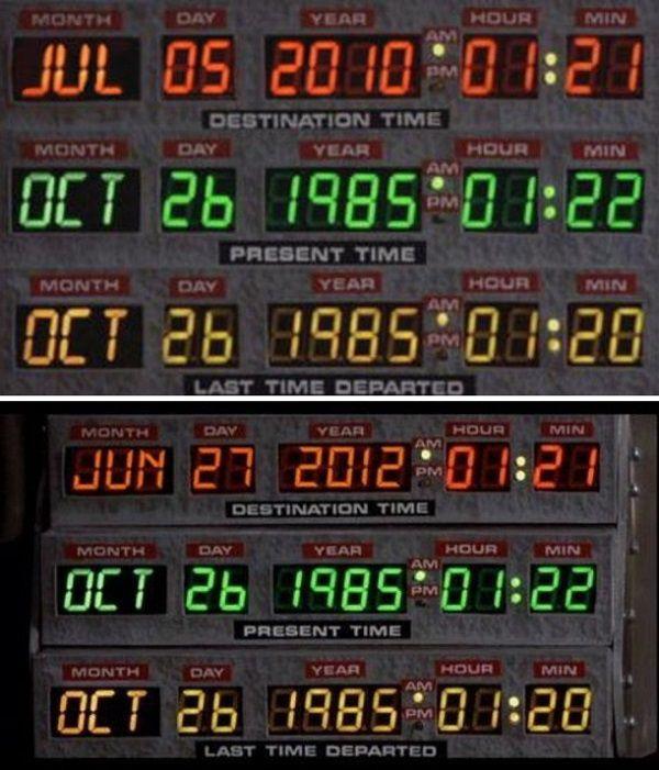 Selon certains, Marty est déjà arrivé...