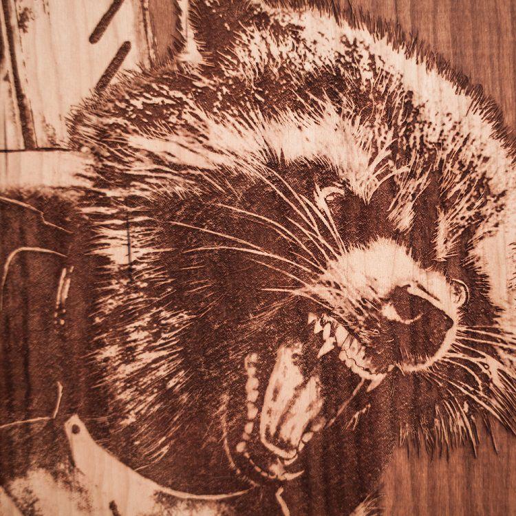 spacewolf-gravure-bois-tableau-rocket-raccoon-marvel-2 [750 x 750]