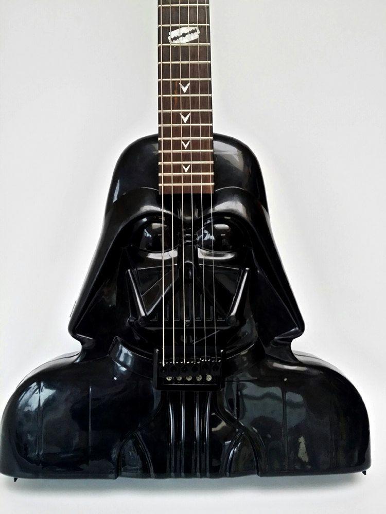 star-wars-guitare-dark-vador-vader [750 x 1000]