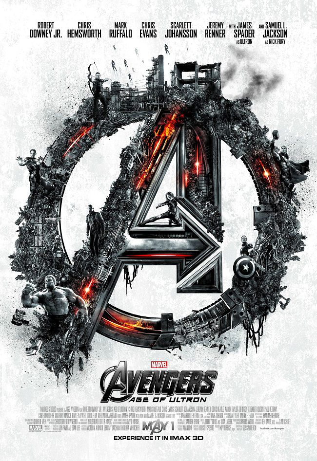 Affiche Avengers : l' Ère d'Ultron version Imax