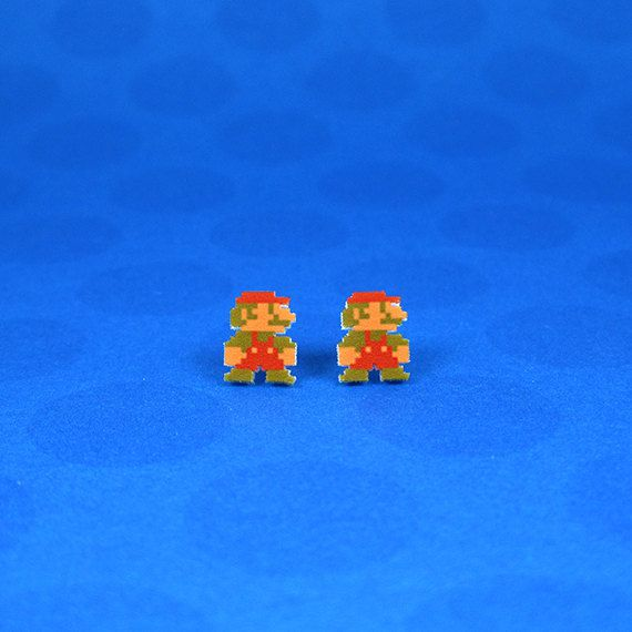 boucles-oreilles-earrings-nintendo-mario-8-bit [570 x 570]