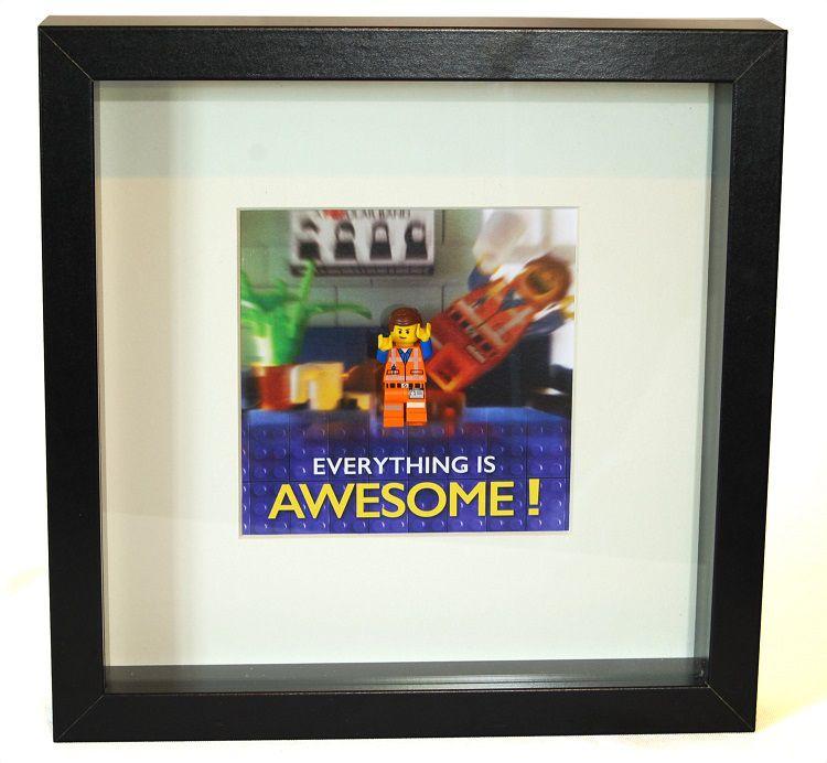 lego-frame-figure-cadre-figurine-tableau-movie-emmet [750 x 692]