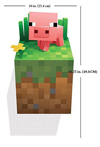 minecraft-wall-decal-stickers-mural-3d-cochon [340 x 500]