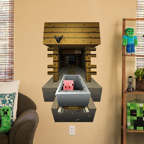 minecraft-wall-mineshaft-decal-stickers-mural-3d [500 x 500]