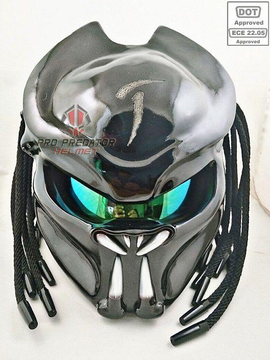Casque moto predator