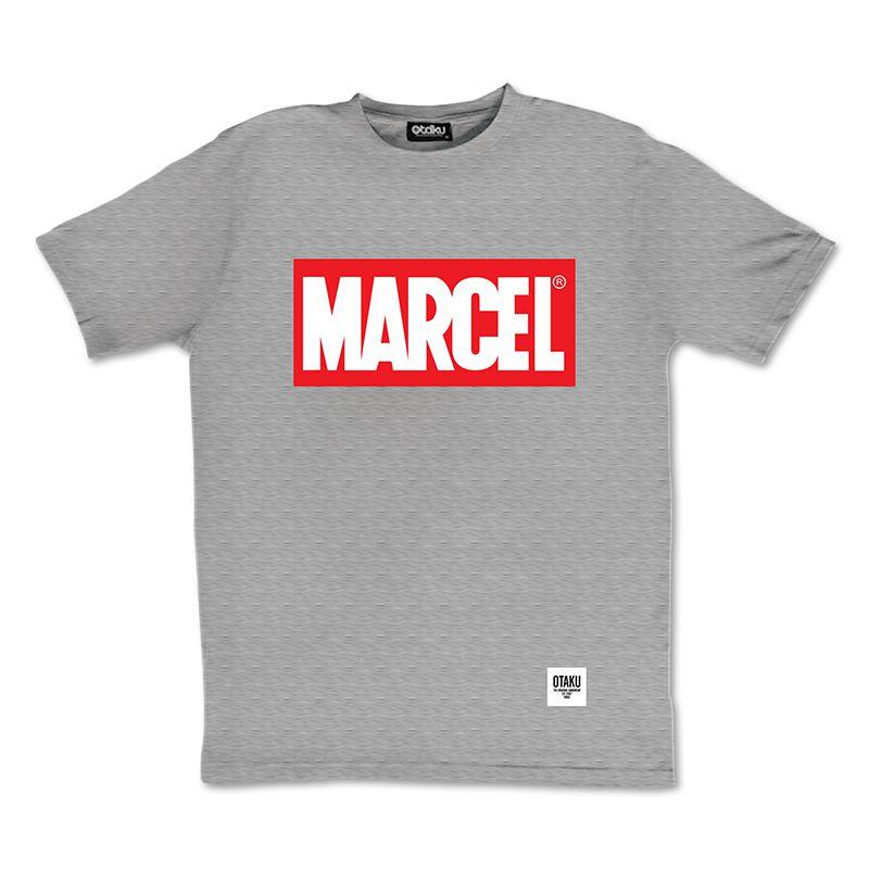 t-shirt-marcel-marvel-logo-gris [700 x 700]