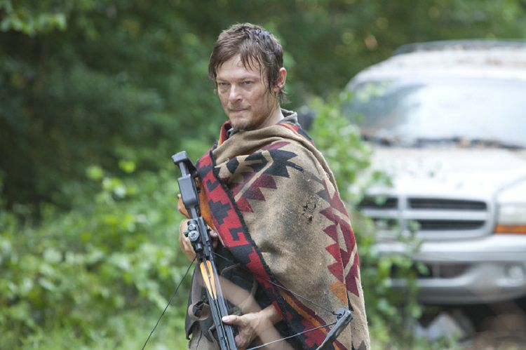 "Daryl Dixon (Norman Reedus) - The Walking Dead_Season 3, Episode 5_""Say the Word"" - Photo Credit: Russell Kaye/AMC"