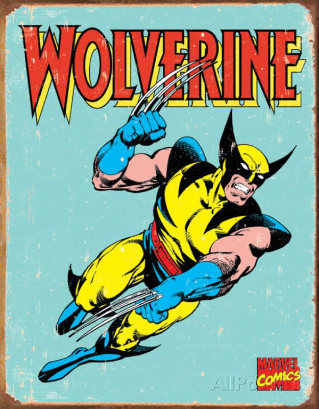 wolverine-panneau-metal-metallique-marvel-retro-comics [625 x 800]