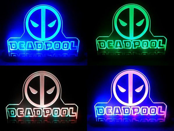 2 lampes deadpool pour votre d coration geek. Black Bedroom Furniture Sets. Home Design Ideas