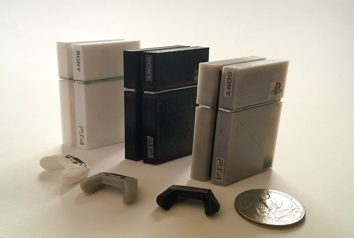 playstation-4-anniverssaire-mini-console-jeu-video-manette-imprimante-3d [700 x 471]