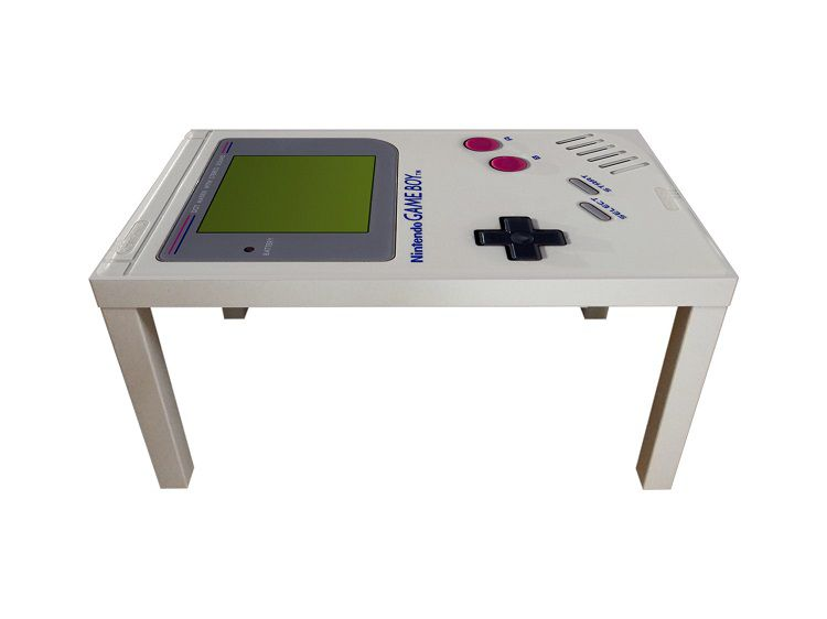 2 tables basses nintendo nes et game boy. Black Bedroom Furniture Sets. Home Design Ideas