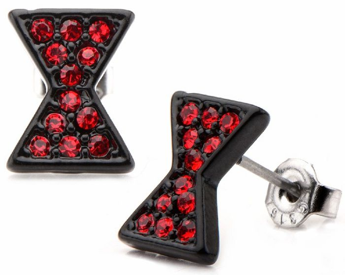 boucles-oreilles-black-widow-avengers-bijoux [700 x 559]