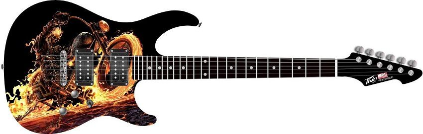 marvel-ghost-rider-guitare-peavey-predator-electrique [850 x 270]