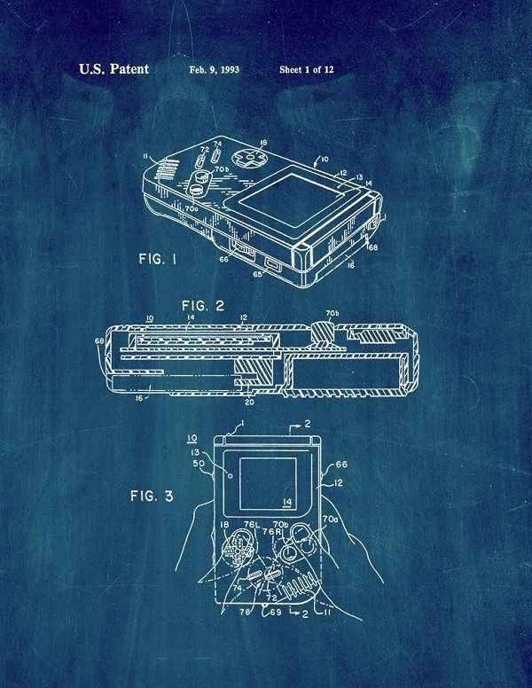 poster-affiche-atari-2600-brevet-console-gaming-retrogaming [600 x 776]
