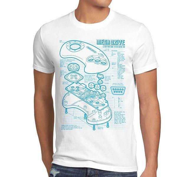 t-shirt-sega-mega-drive-genesis-console-manette-retrogaming [600 x 600]