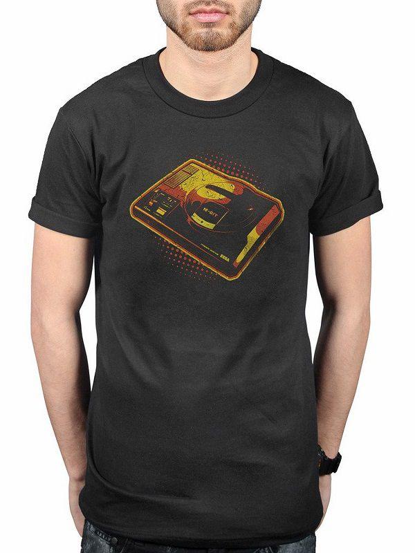 t-shirt-sega-mega-drive-genesis-console-manette-retrogaming [600 x 800]