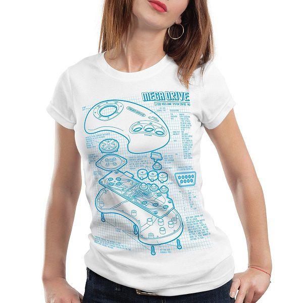 t-shirt-sega-mega-drive-genesis-console-manette-retrogaming-femme [600 x 600]