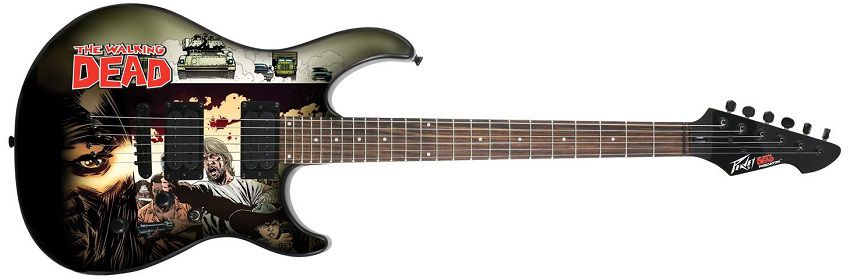 walking-dead-guitare-peavey-predator-electrique [850 x 279]