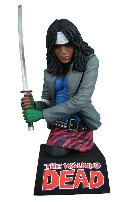 tirelire-the-walking-dead-michonne-buste-figurine [500 x 799]
