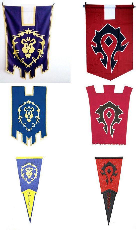 world-of-warcraft-drapeau-bannière-alliance-horde [550 x 919]