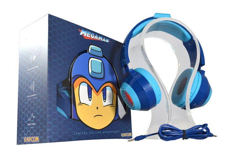 Le casque audio megaman est disponible en france - Porte casque audio ...